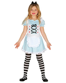 Prachtig meisje kostuum voor meisjes