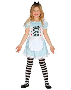 Kostium cudowna dziewczynka dla dziewczynki