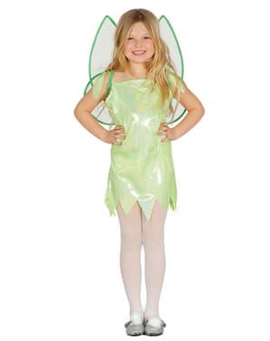 Girl's Green Fairy Costume