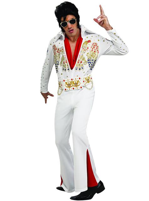 Deluxe Elvis Voksenkostyme