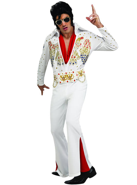Elvis Deluxe Maskeraddräkt