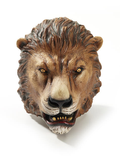 Jungle lion mask for adults