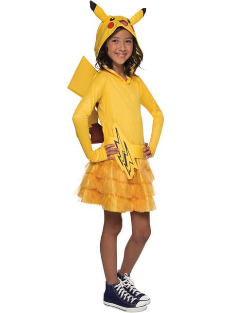 Pikachu Kostuum voor meisjes