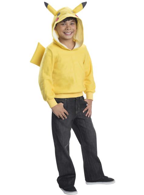 Sweater met capuchon Pikachu voor kinderen