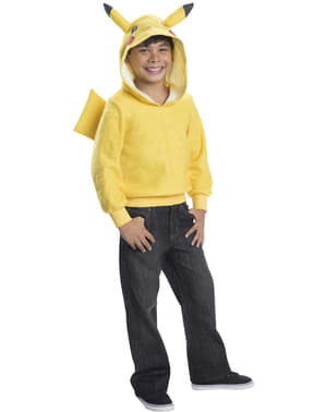 Sudadera de Pikachu con capucha infantil