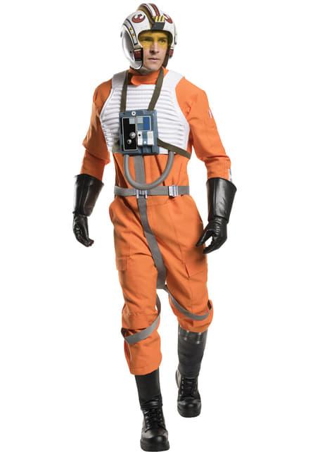 Piloot X- Wing Kostuum voor mannen