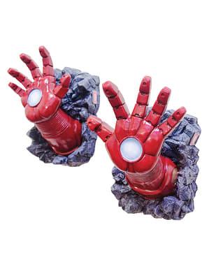 Decoración de pared manos de Iron Man