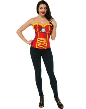 Corsé de Iron Man para mujer