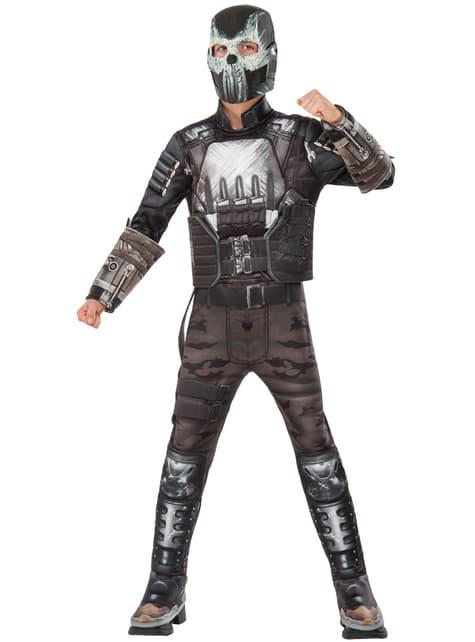 Boy's Crossbones Captain America Civil War Costume