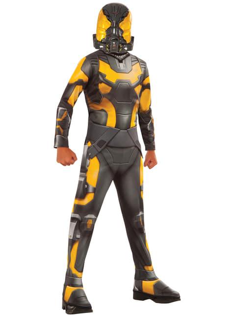 Disfraz de Yellow Jacket Ant Man para niño