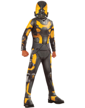 Yellow Jacket Ant Man kostume til drenge
