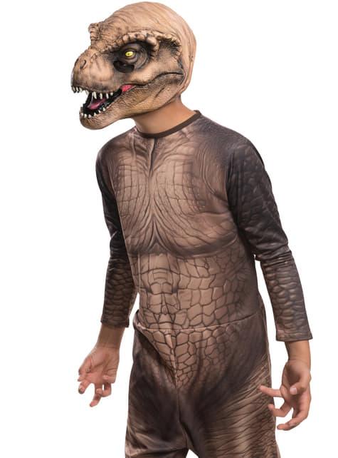 Máscara de Tiranossauro Rex Jurassic World infantil