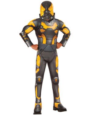Gul jakke Ant Man deluxe kostyme til barn
