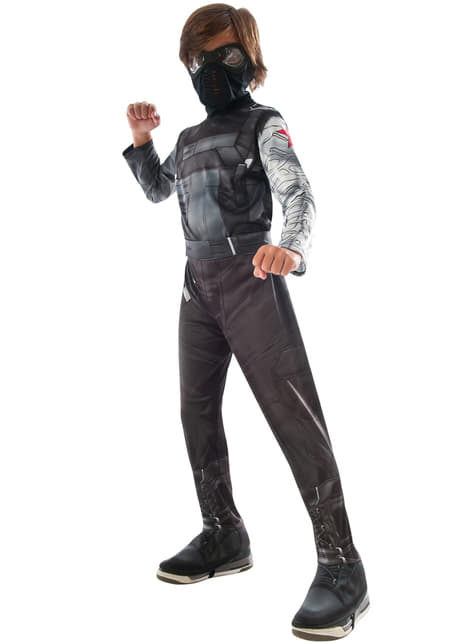 Winter Soldier Captain America Civil War Kostuum voor jongens