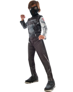 Costume da Soldato d'Inverno Capitan America Civil War per bambino