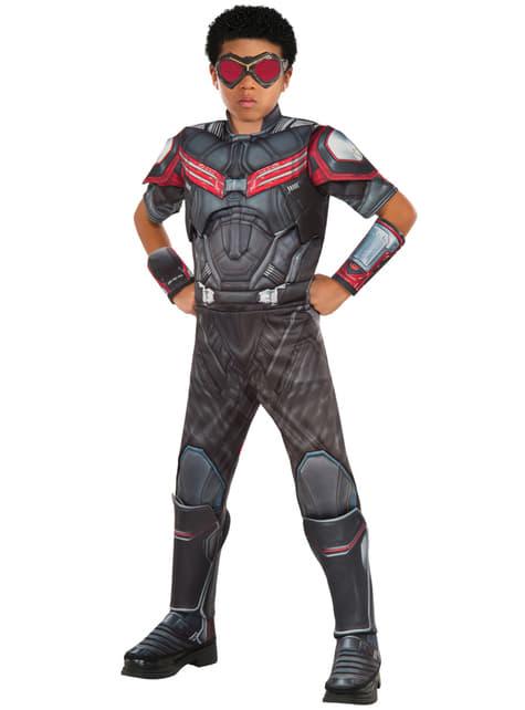 Chlapecký kostým Falcon Kapitán Amerika: Občanská válka