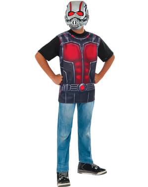 Kit fato de Ant-Man para menino