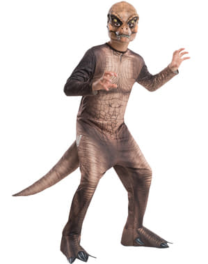 Dinosaurie Maskeraddräkt Tyrannosaurus Rex för barn - Jurassic World