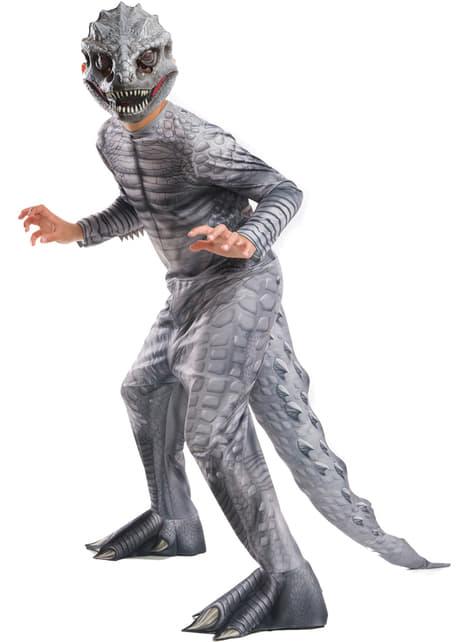 Fato de Indominus Rex Jurassic World para menino