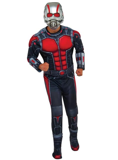 Disfraz de Ant-Man deluxe para adulto