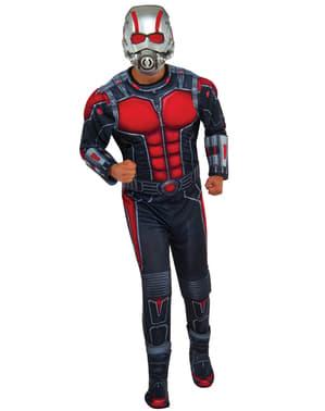 Fato de Ant-Man deluxe para adulto
