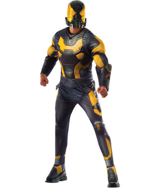 Costum Yellow Jacket Ant Man deluxe pentru adult