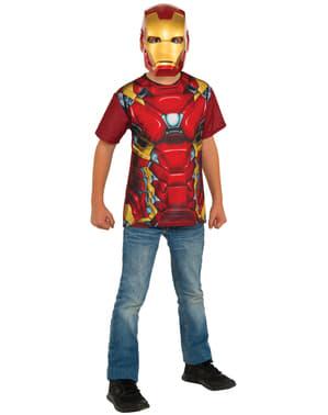 Kit fato de Homem de Ferro, Capitão América: Guerra Civil para menino