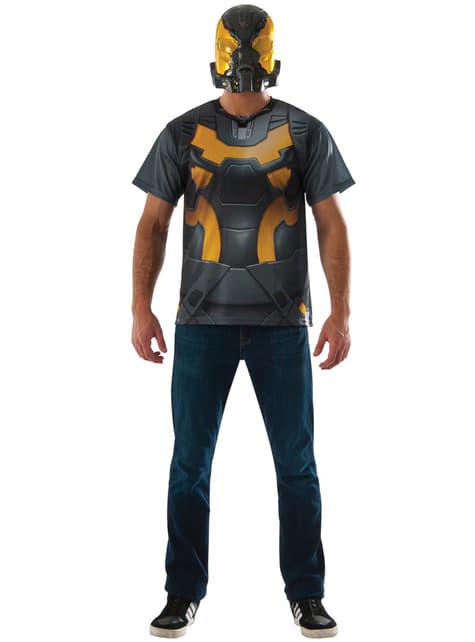 Maskeradset Yellow Jacket Ant Man för vuxen