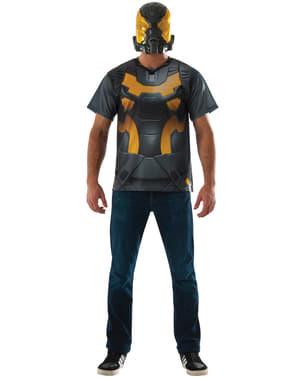 Gul Jakke Ant Man Kostyme Sett for Voksne