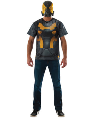 Kit costum Yellow Jacket Ant Man pentru adult