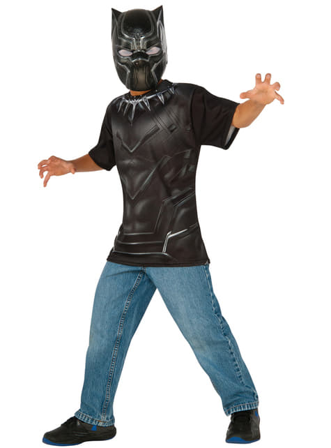 Kit disfraz de Black Panther Capitán América Civil War para niño