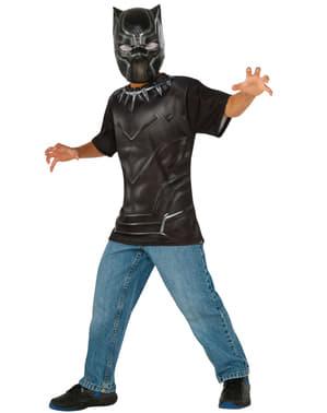 Kit costume Black Panther Capitán America Civil War per bambino