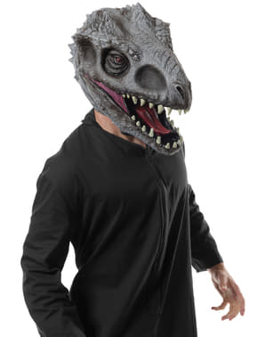 Máscara de Indominus Rex Jurassic World deluxe para homem