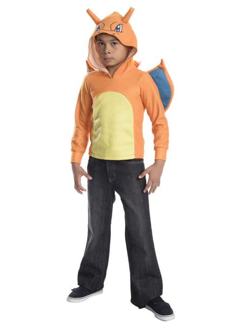 Bluza Charizard z kapturem dla dzieci
