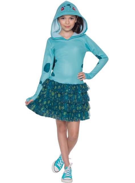 Costume da Bulbasaur Pokemon per bambina