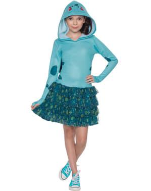 Costum Bulbasaur Pokemon pentru fată