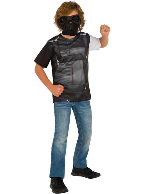 Boy's Winter Soldier Captain America Civil War Costume Kit