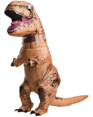 Φουσκωτά T-Rex δεινόσαυρος κοστούμι για ενήλικες - Τζουράσικ Παγκόσμιο