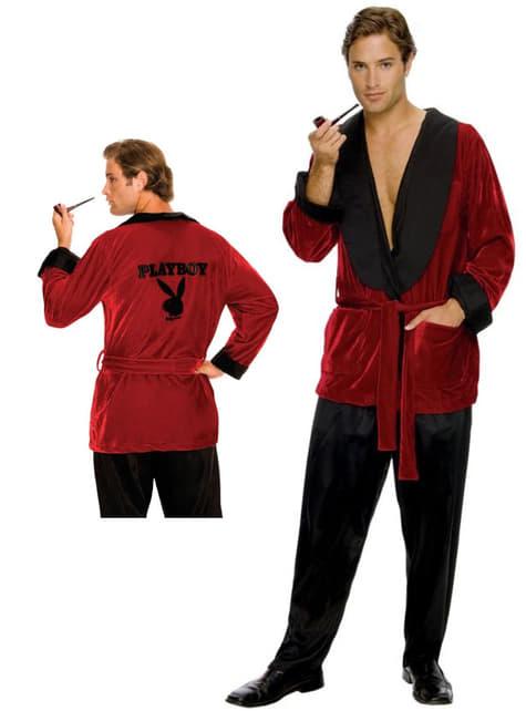 Hugh Hefner Playboy badjas