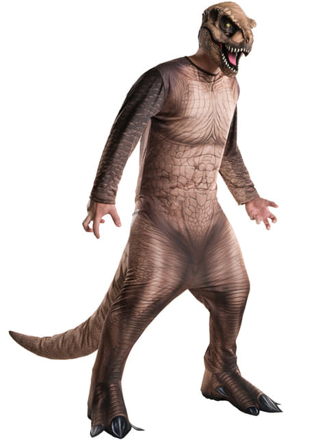 Fato de Tiranossauro Rex Jurassic World para homem