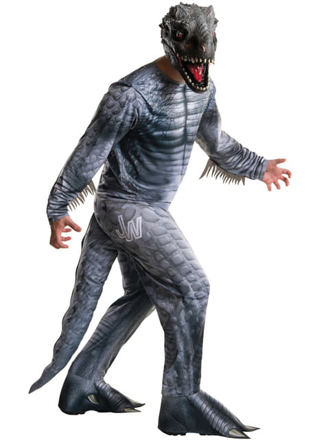 Fato de Indominus Rex Jurassic World para homem