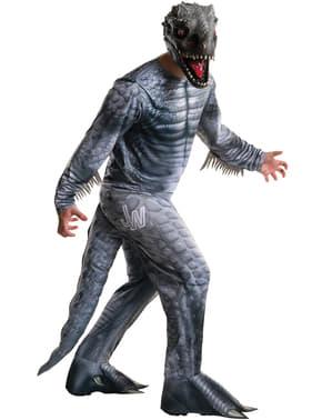 Indominus Rex Dinosaur Kostume til Voksne - Jurassic World