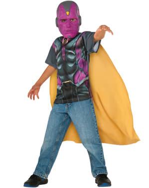 Kit disfraz de Vision Capitán América Civil War para niño