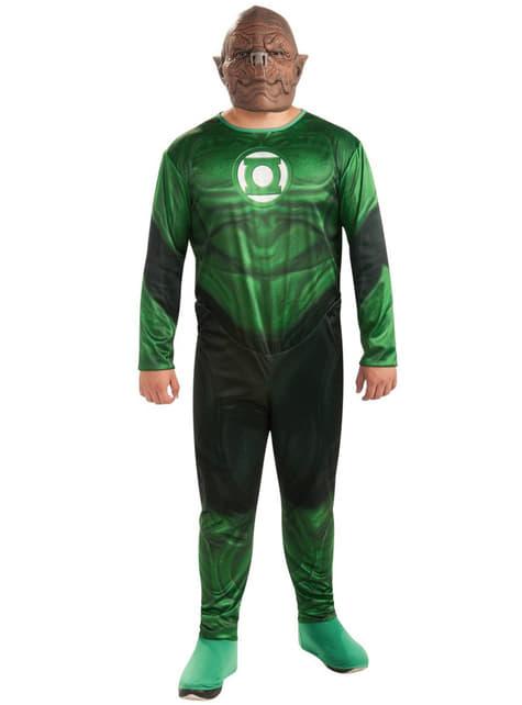 Men's Plus Size Kilowog Green Lantern Costume