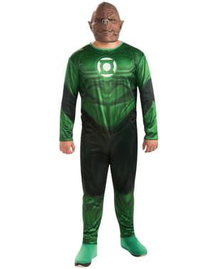 Fato de Kilowg Lanterna Verde para homem tamanho grande