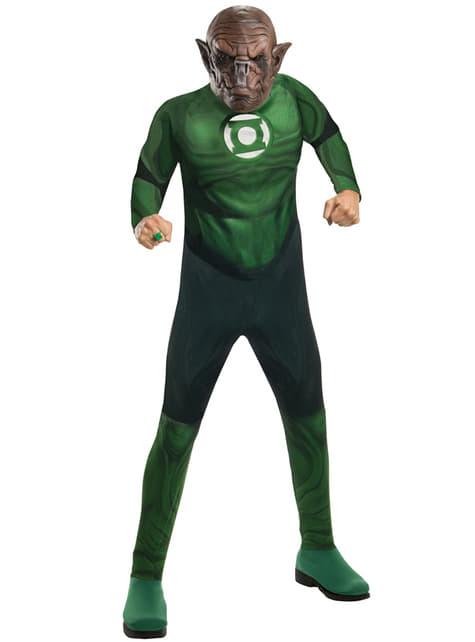 Disfraz de Kilowg Linterna Verde para hombre