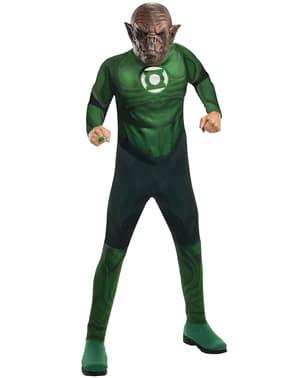 Green Lantern Kilowog kostume til mænd
