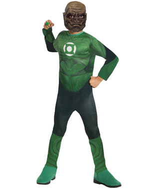Boy's Kilowog Green Lantern Costume