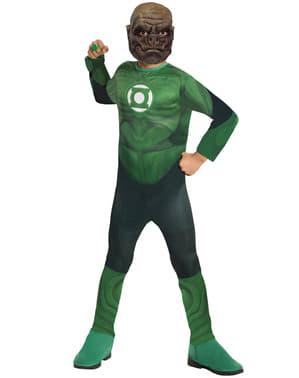 Boys Kilowog Green Lantern kostyme til gutt