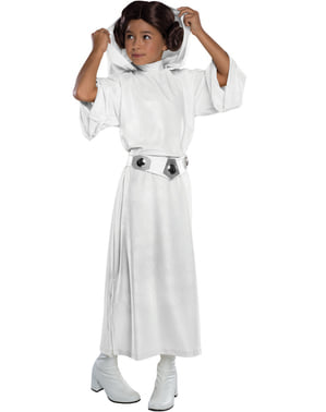 Girl's Deluxe Princess Leia Costume